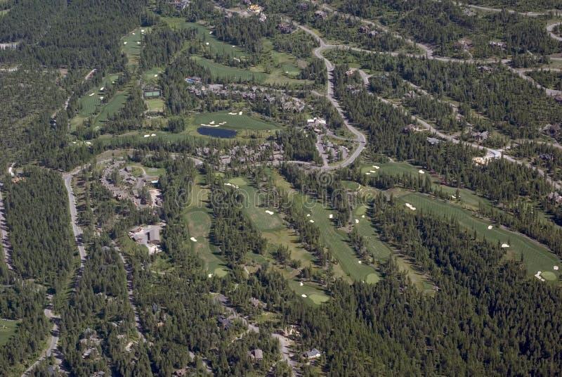 Vida en el campo de golf imagenes de archivo