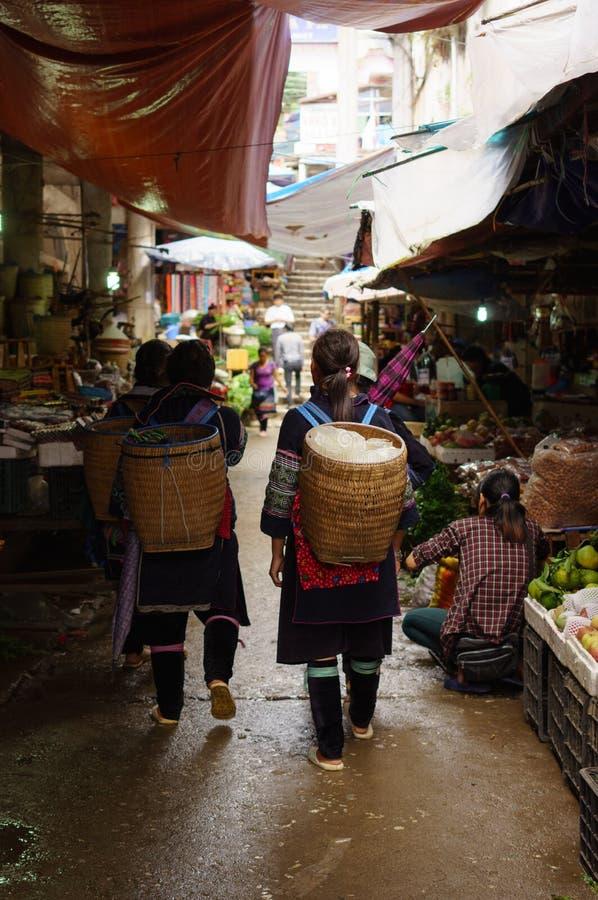 Vida en Sapa-Viet Nam foto de archivo libre de regalías