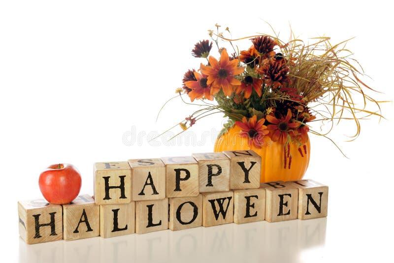 Vida feliz de Halloween ainda imagens de stock