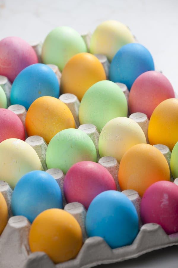 vida inmóvil de los huevos de Pascua fotos de archivo libres de regalías