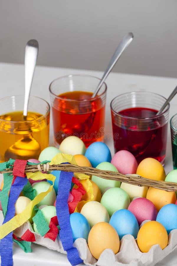 vida inm?vil de los huevos de Pascua foto de archivo libre de regalías