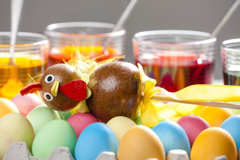 vida inm?vil de los huevos de Pascua imágenes de archivo libres de regalías