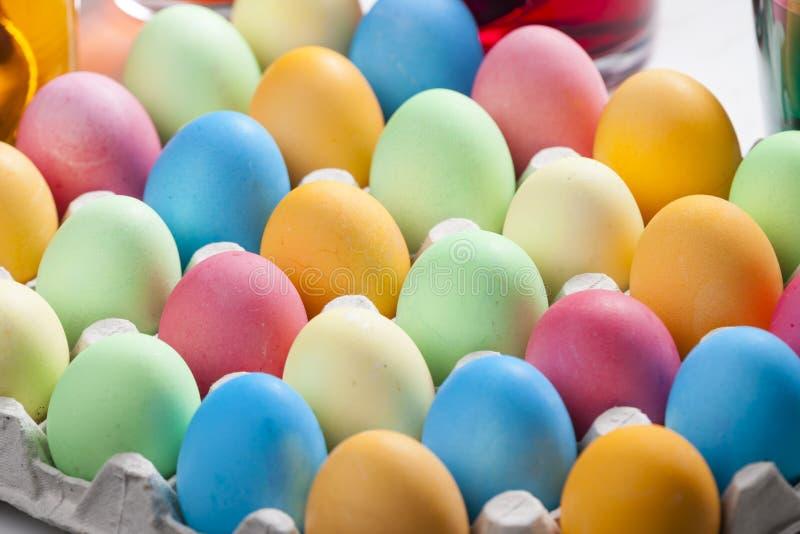 vida inm?vil de los huevos de Pascua imagenes de archivo