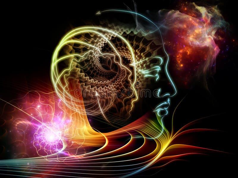 Vida interna de la mente humana libre illustration