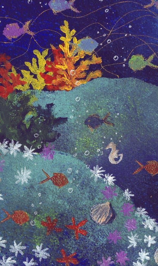 Vida marinha Unspoiled - ilustração royalty free