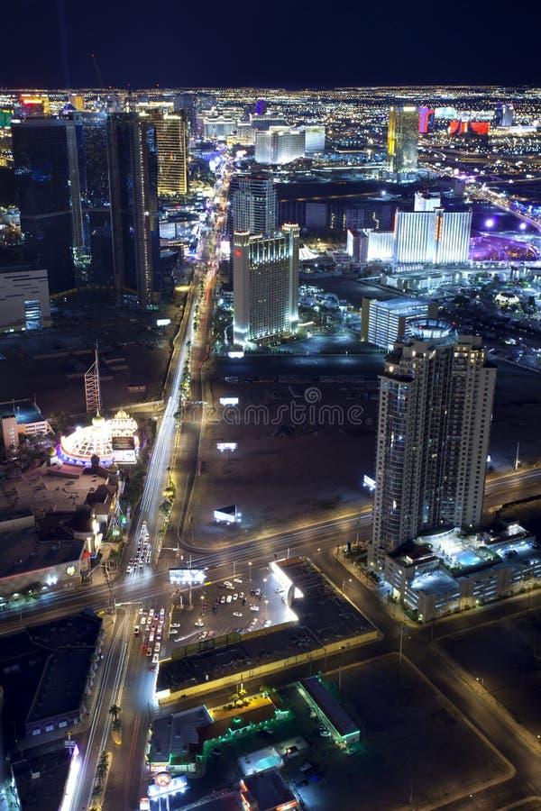 Vida noturno de Las Vegas fotografia de stock royalty free