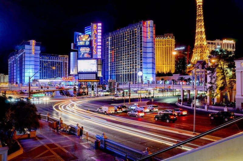 Vida noturno de Las Vegas imagens de stock royalty free