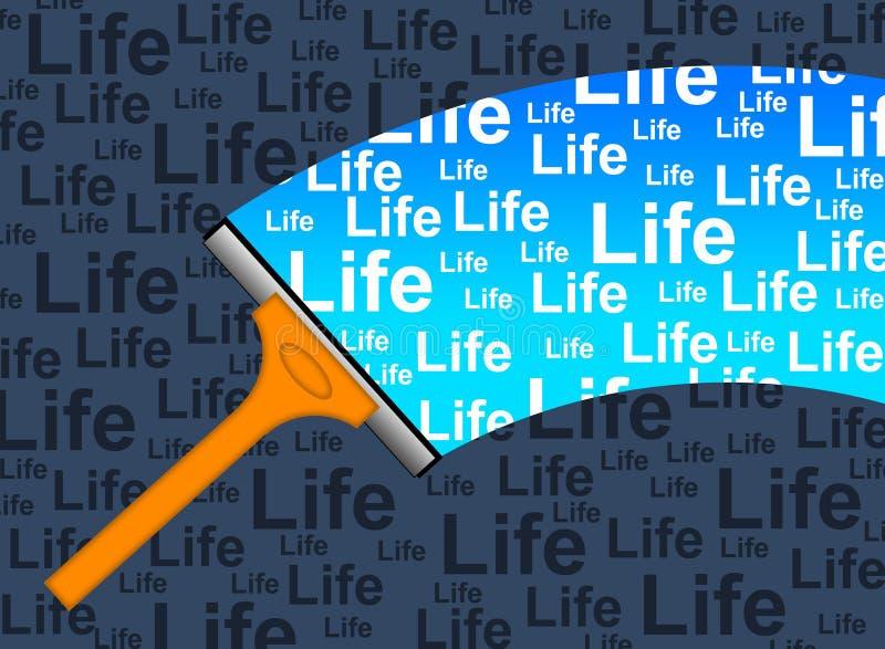 Vida nova ilustração stock