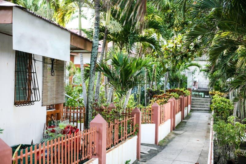 Vida quotidiana dos filipinos na cidade Filipinas de Cebu fotos de stock royalty free