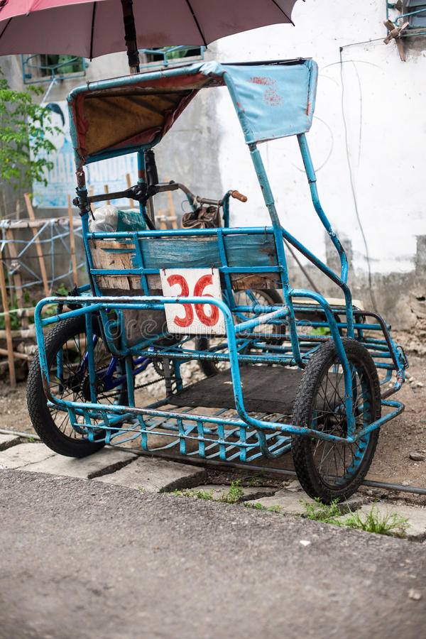Vida quotidiana dos filipinos na cidade Filipinas de Cebu imagens de stock