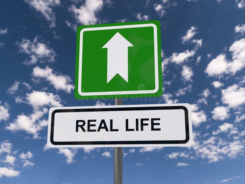 Vida real a continuación fotografía de archivo