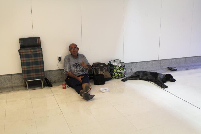 Vida sin hogar 023 imágenes de archivo libres de regalías