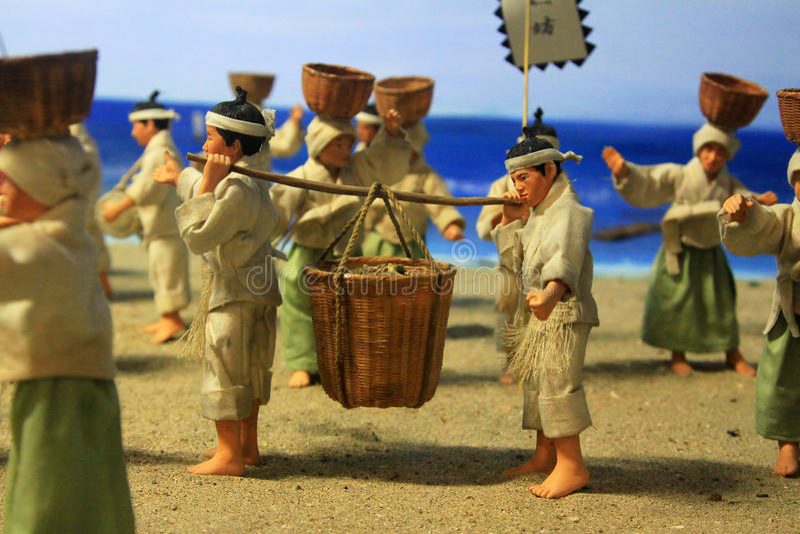 Vida tradicional coreana antiga fotos de stock