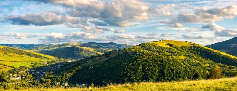 Vida tranquila y pacífica en zona rural imagen de archivo libre de regalías
