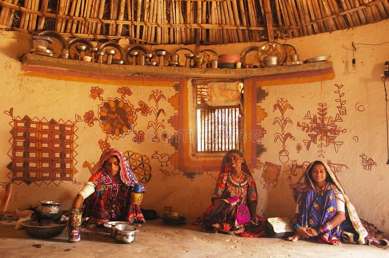 Vida tribal imagens de stock royalty free