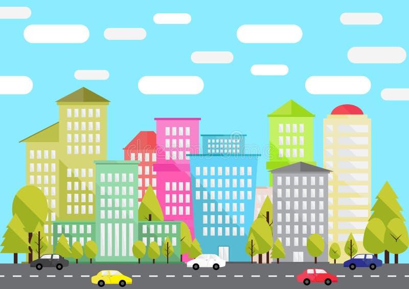 Vida urbana imagens de stock