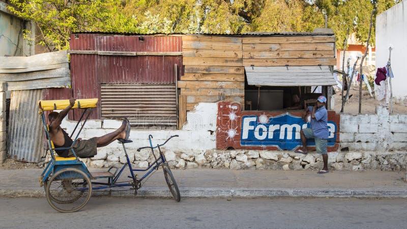Vida urbana de Toliara, Madagáscar imagem de stock royalty free