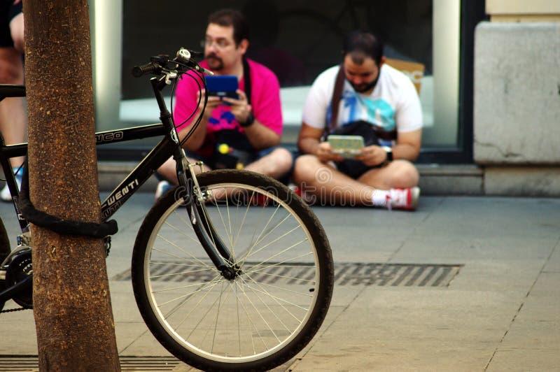 Vida urbana em Sevilha 14 foto de stock royalty free
