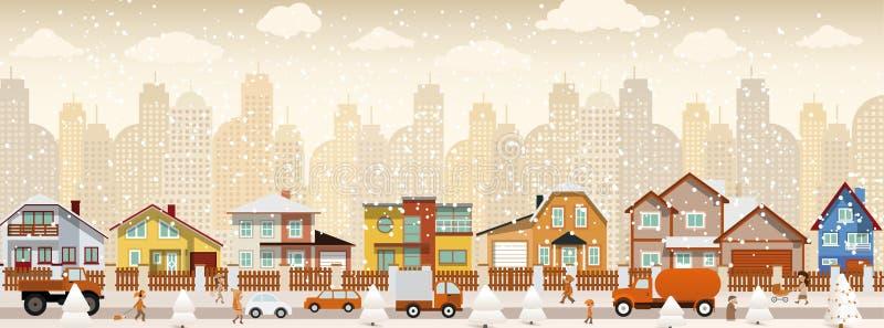 Vida urbana (inverno)