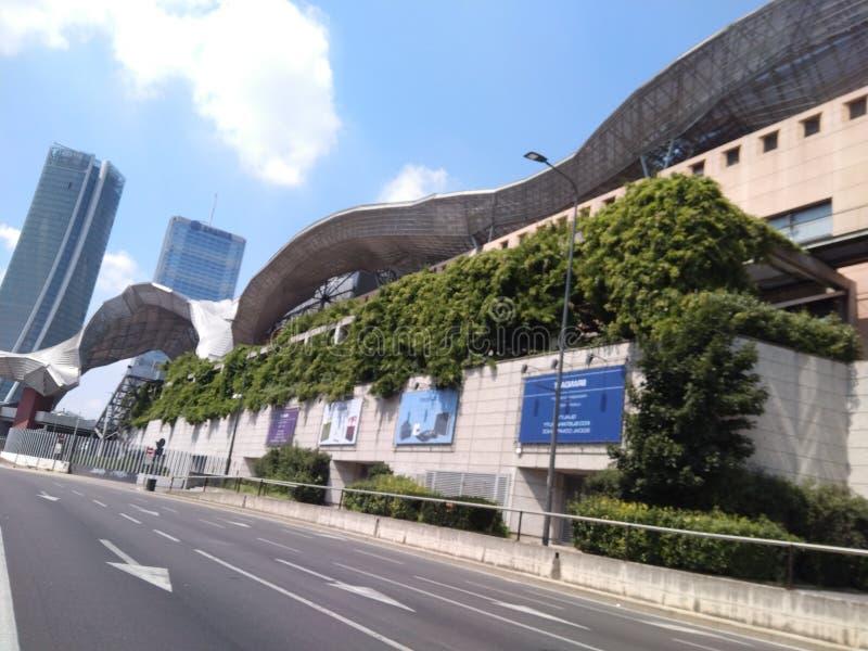 Vida urbana, Milão, Itália fotografia de stock royalty free