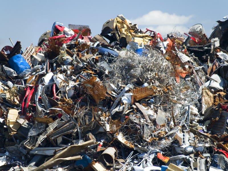 Vidage mémoire d'ordures image stock