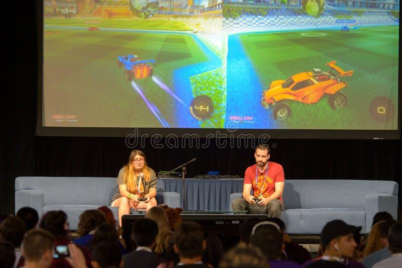 Vidcon 2016 photos libres de droits