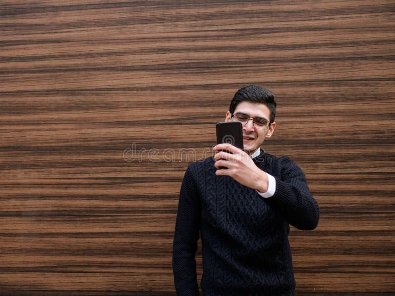 Vide call communication modern mobile technology royalty free stock image