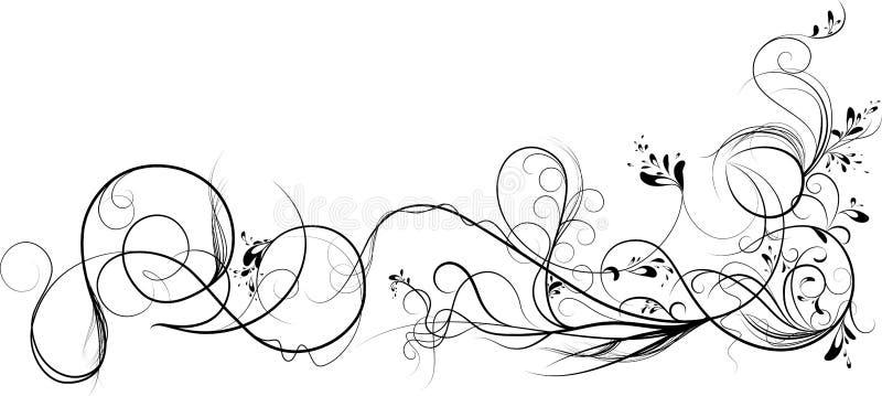 Videiras. ilustração do vetor