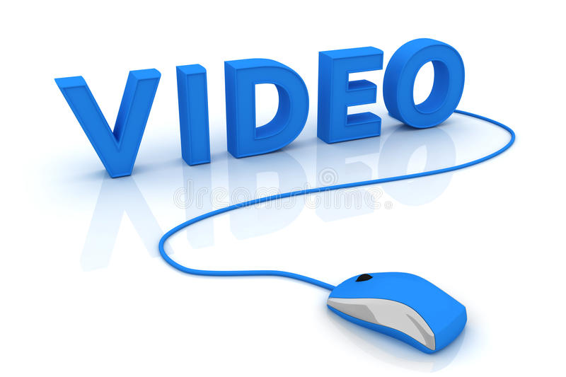 Video vector illustratie