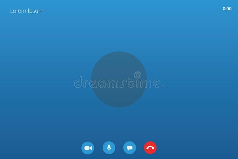 Call Screen Skype Stock Illustrations 130 Call Screen Skype Stock Illustrations Vectors Clipart Dreamstime