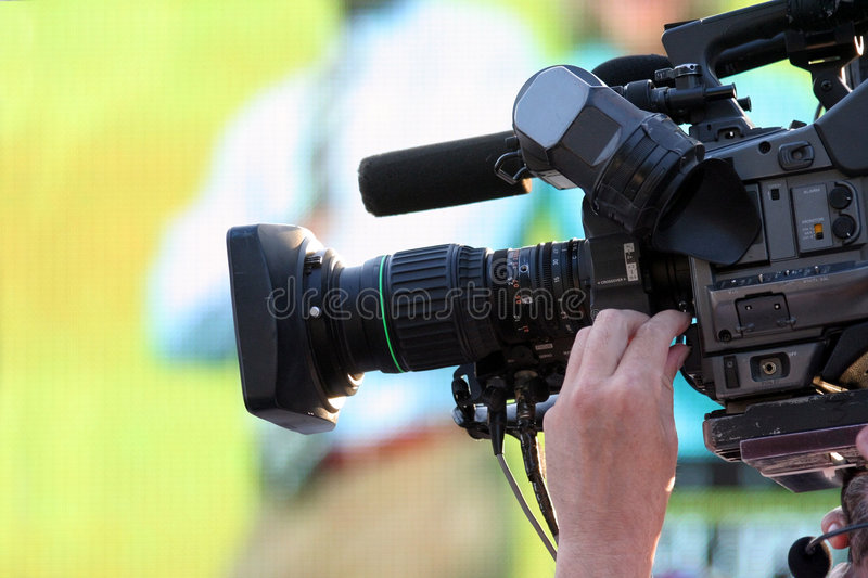Download Video camera stock photo. Image of coverage, newscast - 1192500
