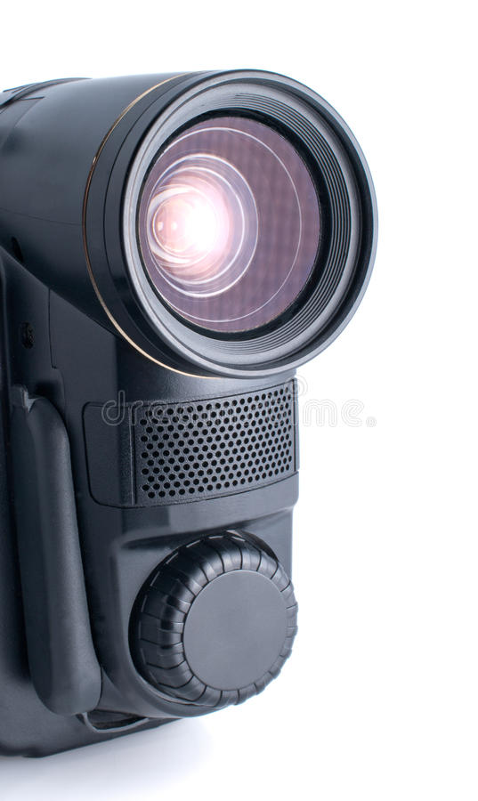 Download Video camera stock photo. Image of focus, color, isolated - 12047798