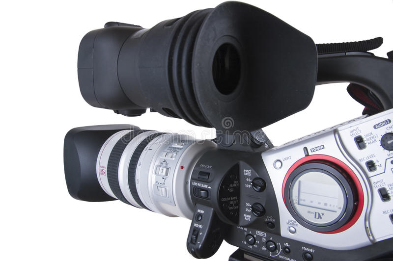 Download Video Camera stock image. Image of wide, white, professional - 16159573