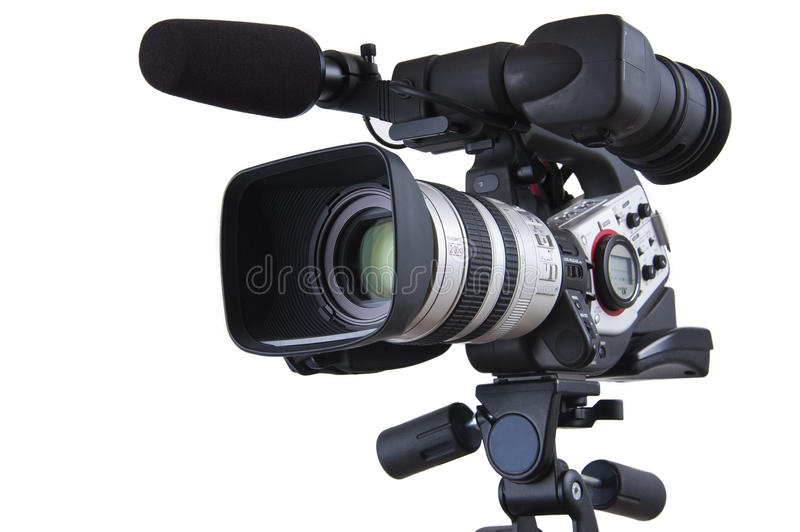 Download Video Camera stock image. Image of video, professional - 16159585