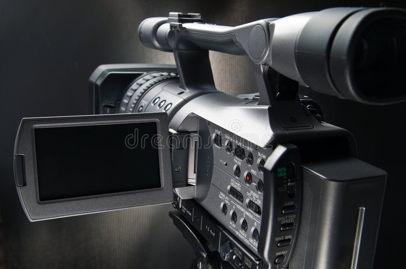 Video Camera 3 stock images