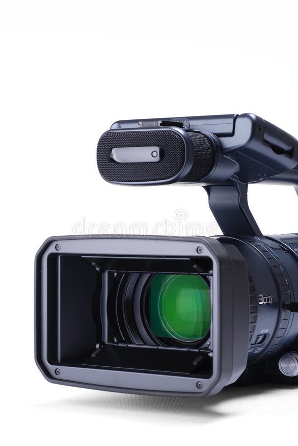 Download Video camera stock photo. Image of 3ccd, record, broadcasting - 8230736