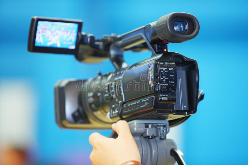 Video camera royalty free stock photo