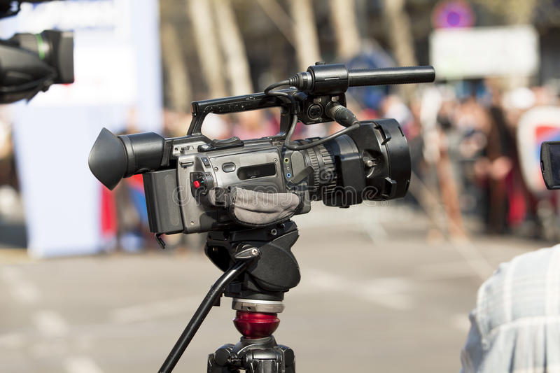 Download Video camera stock photo. Image of conference, lens, camera - 33040448