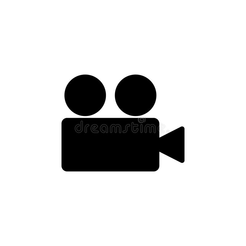 Video camera icon. Element of web icons. Premium quality graphic design icon. Signs and symbols collection icon for websites, web. Design, mobile app on white vector illustration