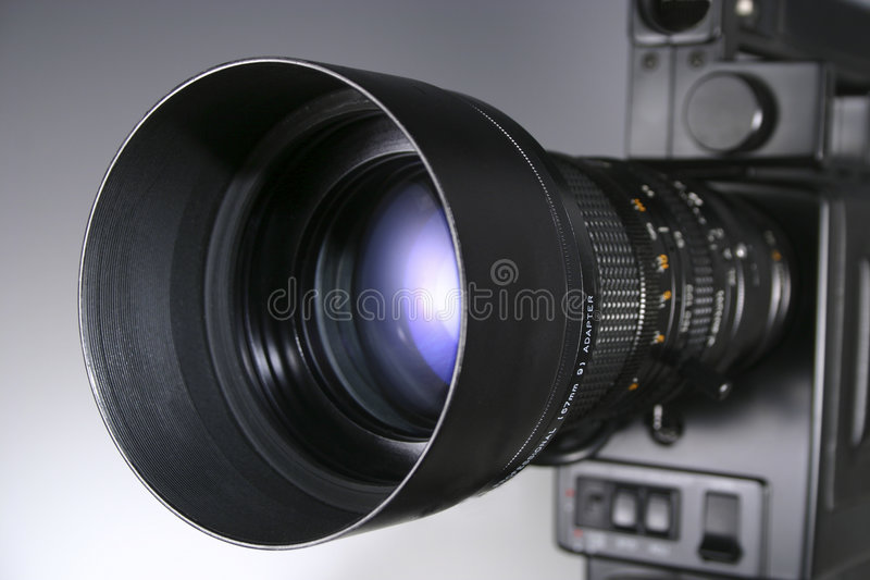 Download Video Camera Lens stock image. Image of zoom, electronics - 2556809