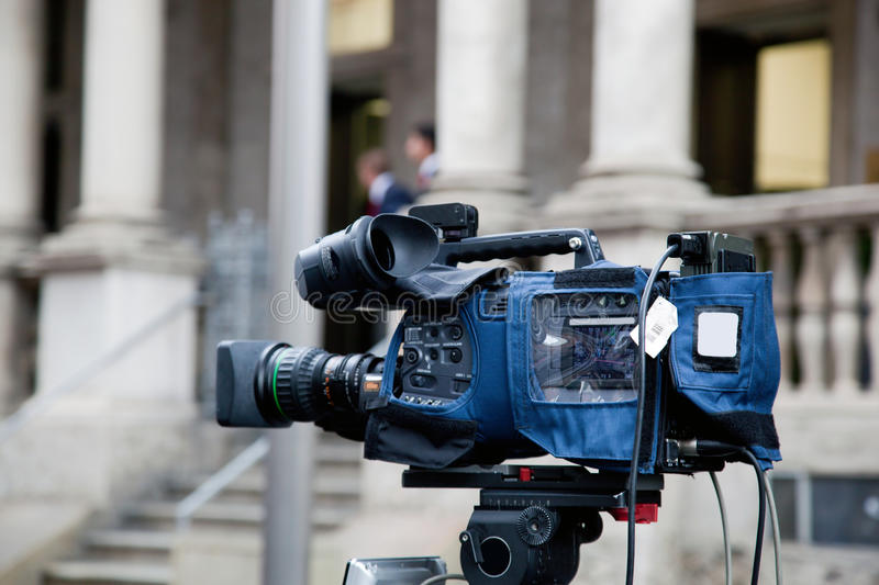 Download Video camera outdoors stock image. Image of fashion, city - 27221285