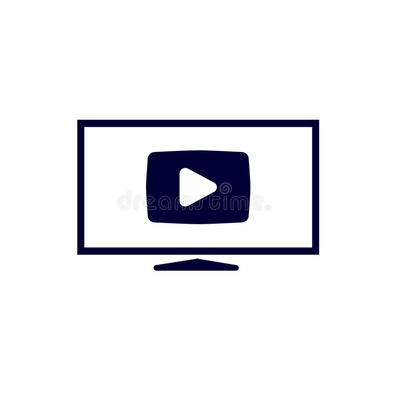 Video Camera simple icon. Movie or Cinema sign. Multimedia symbol. Quality design elements. Vector illustration. Video Camera simple icon. Movie or Cinema sign royalty free stock image