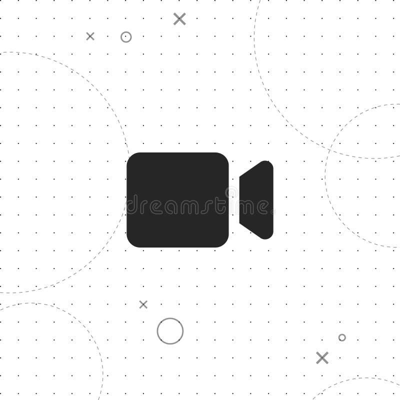 Video camera vector icon royalty free illustration