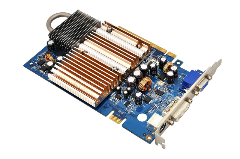 Download Video Card Stock Photos - Image: 26348443