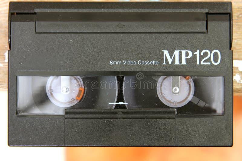 Video cassette. Mini video camera camcorder cassette stock photos