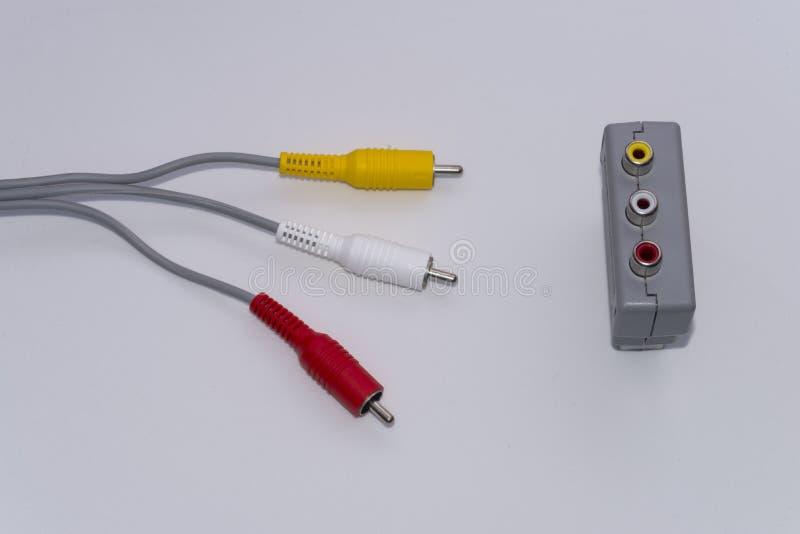Download Video connettori immagine stock. Immagine di azionamento - 56882735