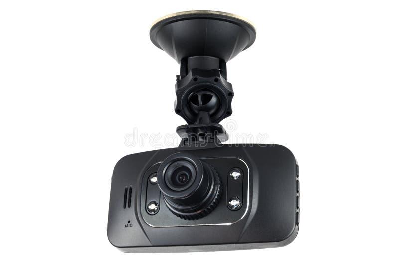Video de la cámara del coche aislado fotos de archivo