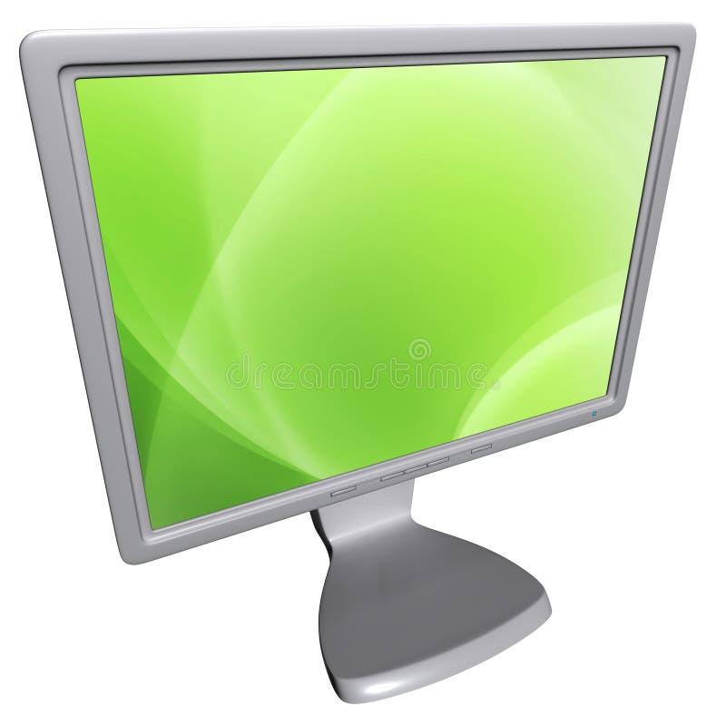 Monitor del computer fotografia stock