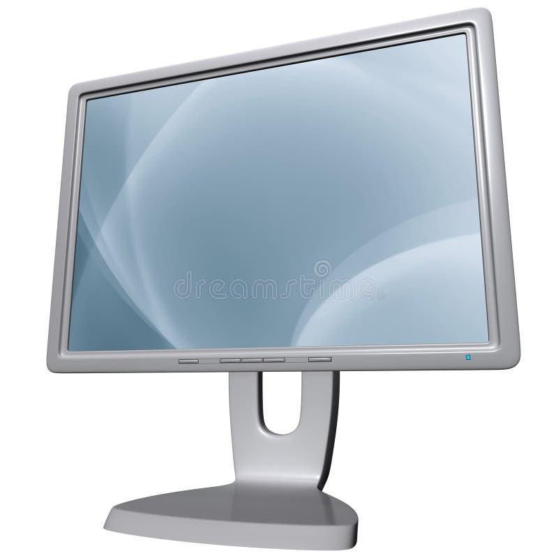 Monitor del computer immagini stock libere da diritti