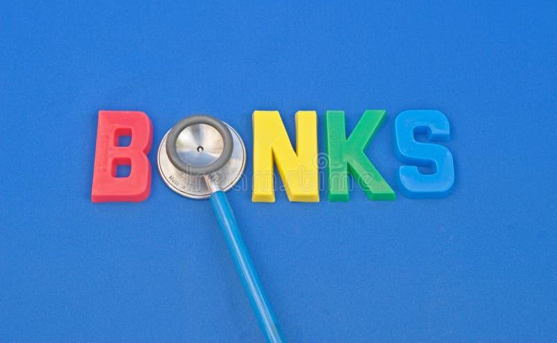 Video della salute delle banche. fotografia stock libera da diritti